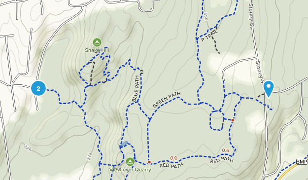 Sylvan Glen Town Preserve Map