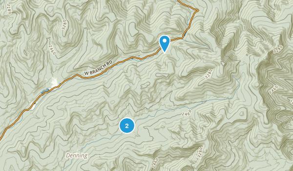 Slide Mountain Wilderness Map