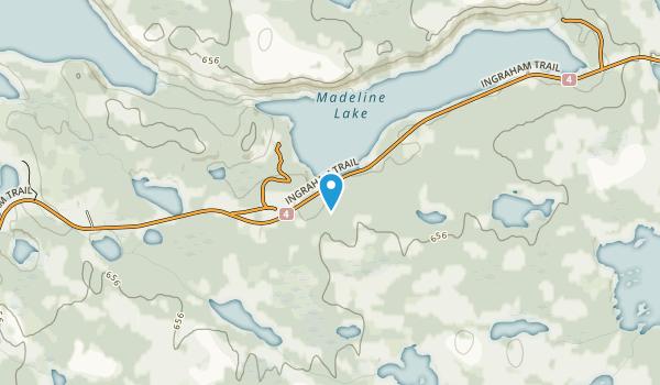 Madeline Lake Territorial Park Map
