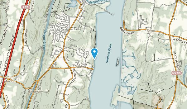 Falling Waters Preserve Map