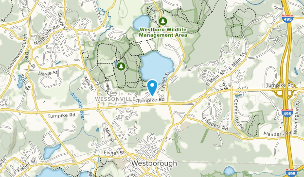 Westboro Wildlife Management Area  Map