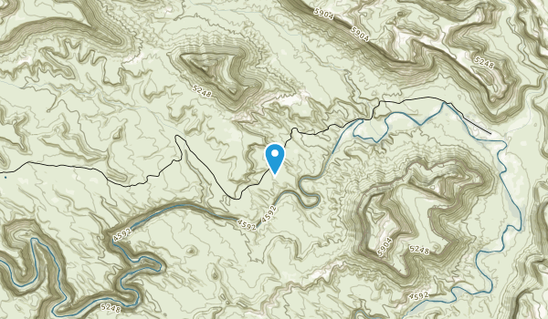 Mexican Mountain Wilderness Study Area Map