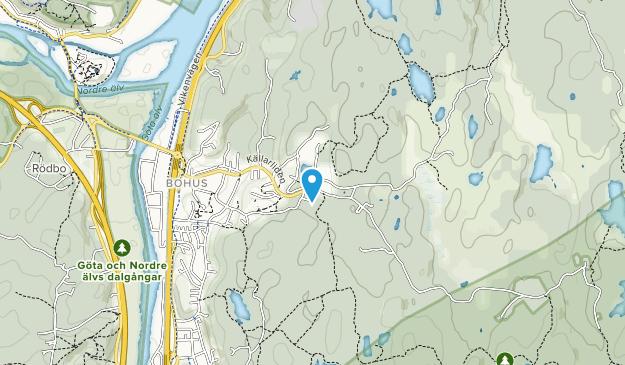 Vättlefjäll Map
