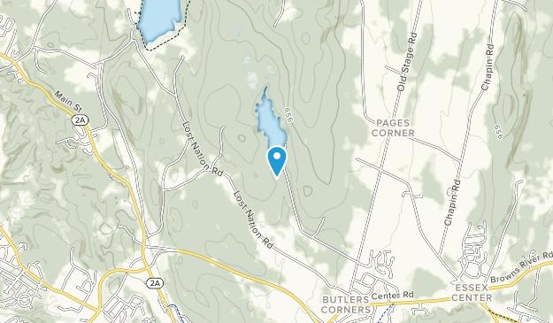 Indian Brook Park Map