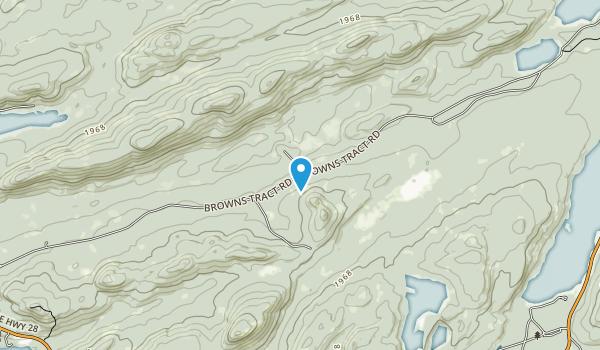 Pigeon Lake Wilderness Map