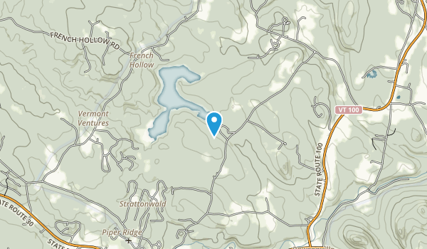 Gale Meadow Pond Map