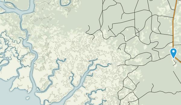 Lower Suwannee National Wildlife Refuge Map