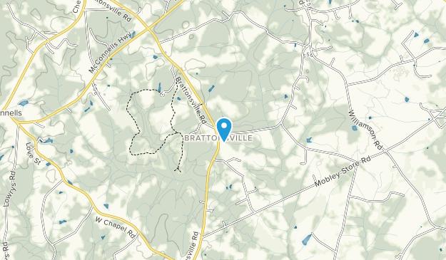 Historic Brattonsville Map