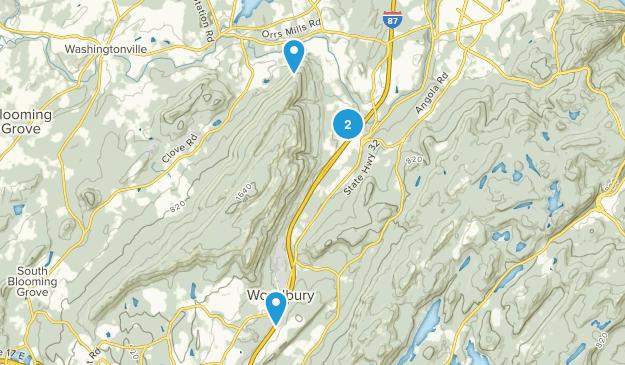 Schunnemunk State Park Map