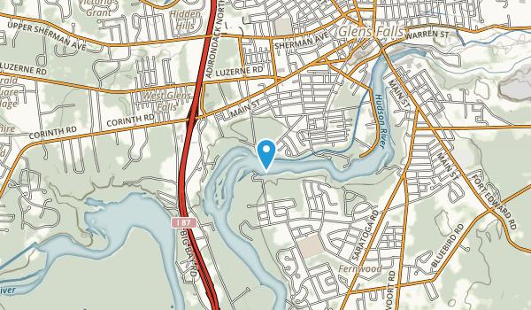 Feeder Canal Park Map