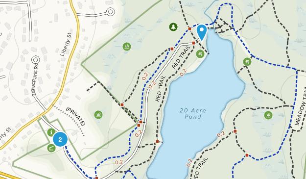 Pond Meadow Park Map