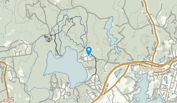 Schoolhouse Pond Preserve Map