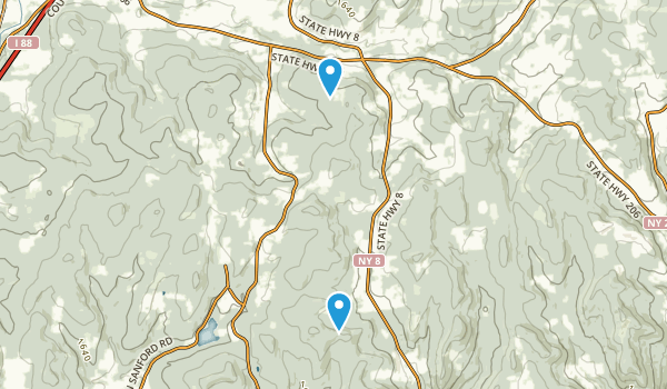 Beals Pond State Forest Map