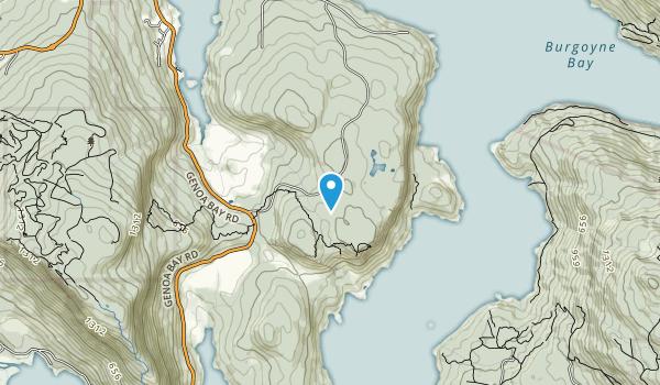 Stoney Hill Regional Park Map