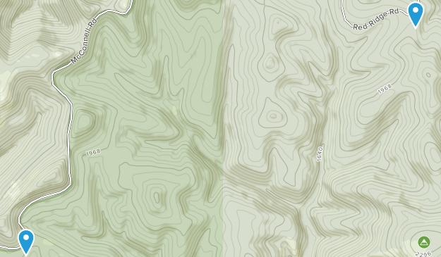 Hammersley Wild Area Map