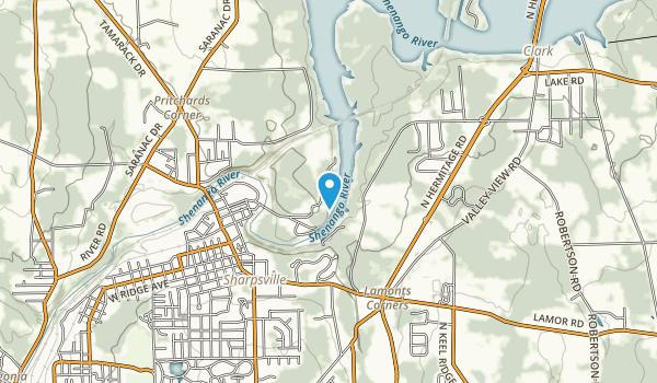 Mahaney Public Use Area Map