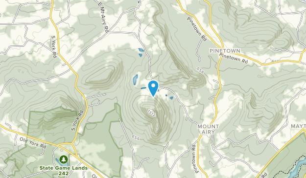 Roundtop Mountain Resort Map