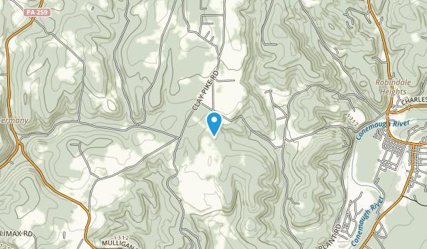 Buttermilk Falls  Map