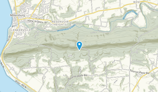 Ned Smith Center Lands and Trails Map