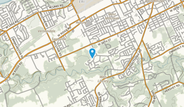 Ashbury Woods Map