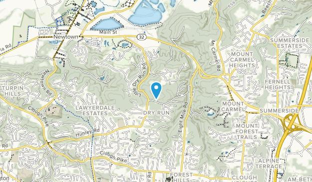 Johnson Hills Park Map