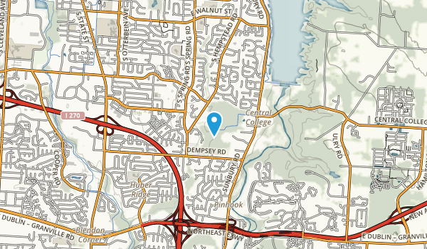 Inniswood Metro Gardens Map