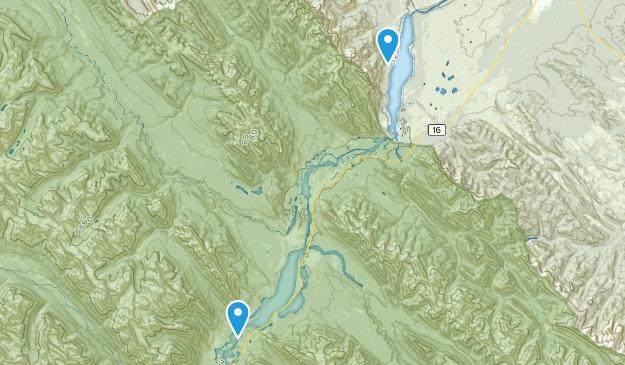 Rock Lake- Solomon Creek Wildland Provincial Park  Map