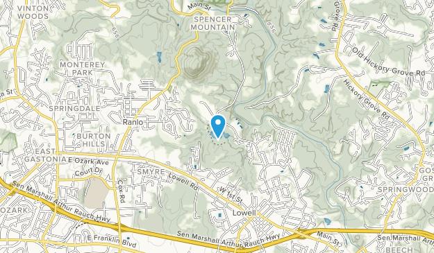 George Poston Park Map