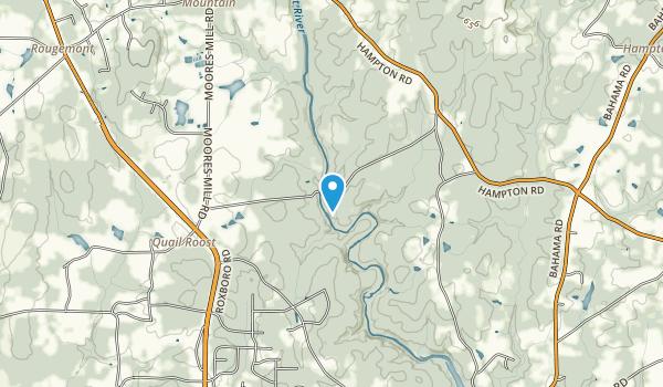 NCSU Demonstration Forest Map