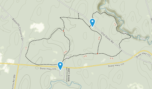 Tug Hill State Forest Map