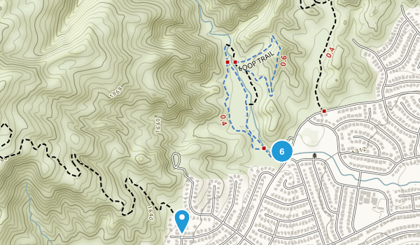 O'Melveny Park Map