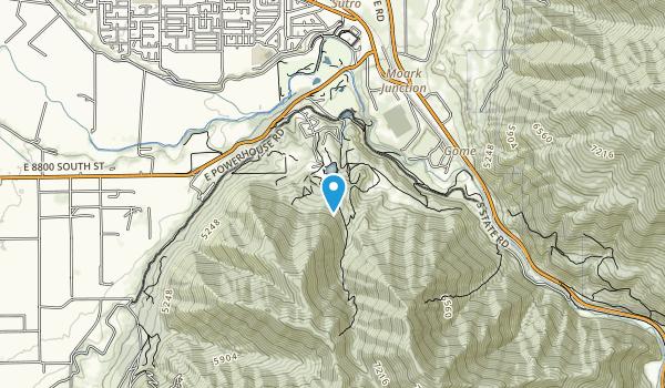 Spanish Oaks Reservoir Map