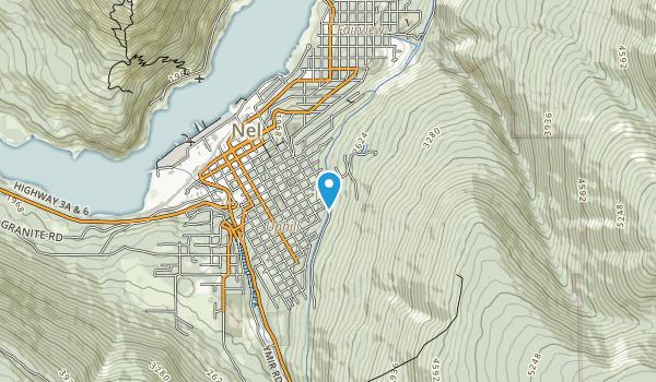West Arm Provincial Park Map