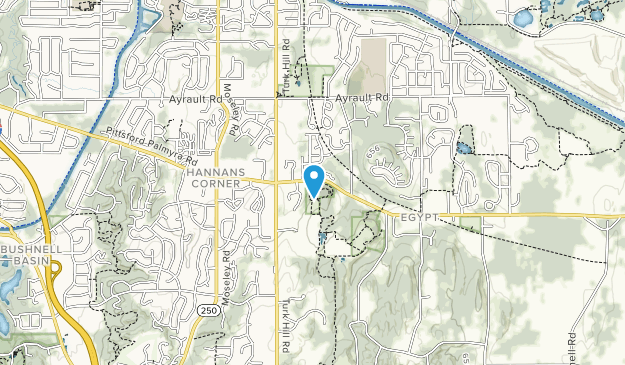 Thayer Hill Map