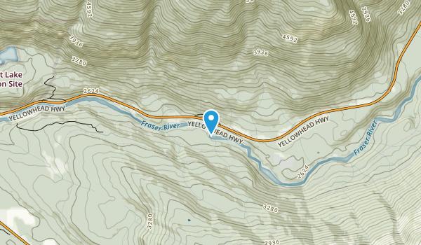 Rearguard Falls Provincial Park Map