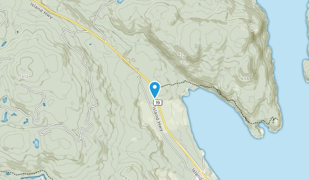 Nymphe Cove Recreation Site Map