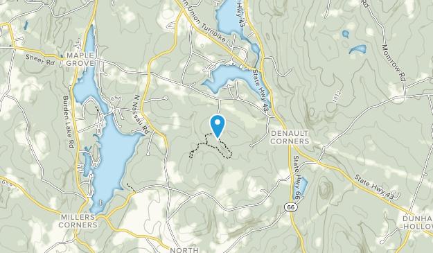 Stewart Preserve Map