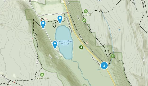 Labrador Hollow Unique Area Map