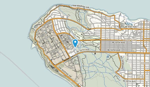 UBC Endowment Lands Map