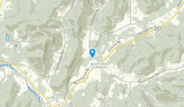Pfeiffer Nature Center: Eshelman Tract Map