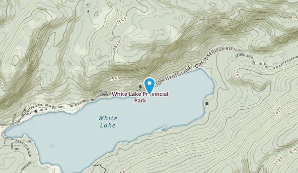 White Lake Provincial Park Map