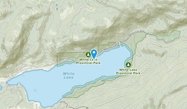White Lake Provincial Park Map