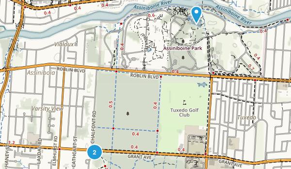 Assiniboine Park Map