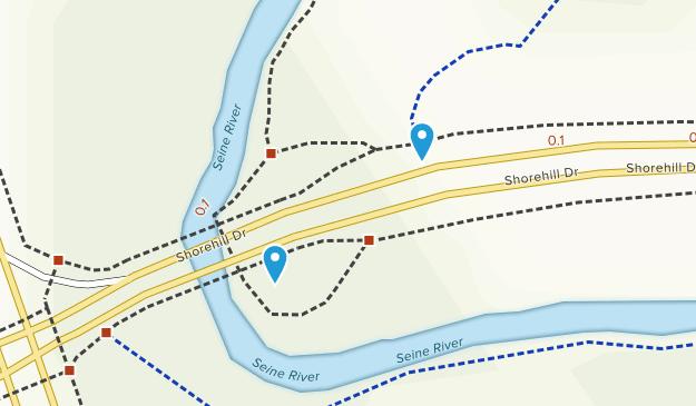 Bois-des-Esprits Window Park Map