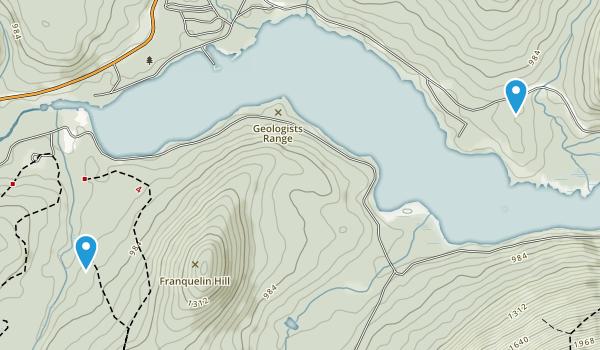Mount Carleton Provincial Park  Map