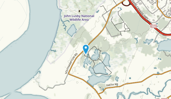 Chignecto National Wildlife Area Map
