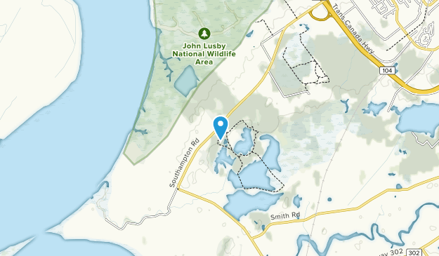 Chignecto National Wildlife Area Map