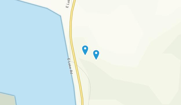 Lake Moraine Map
