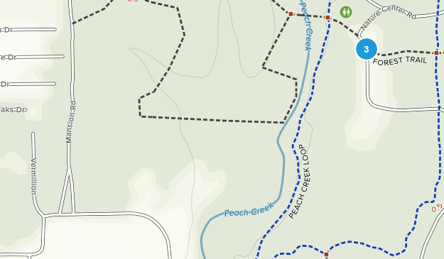 Lake Houston Wilderness Park Map