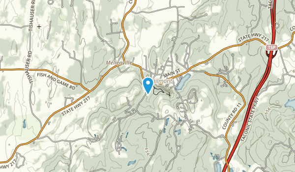 High Falls Conservation Area Map